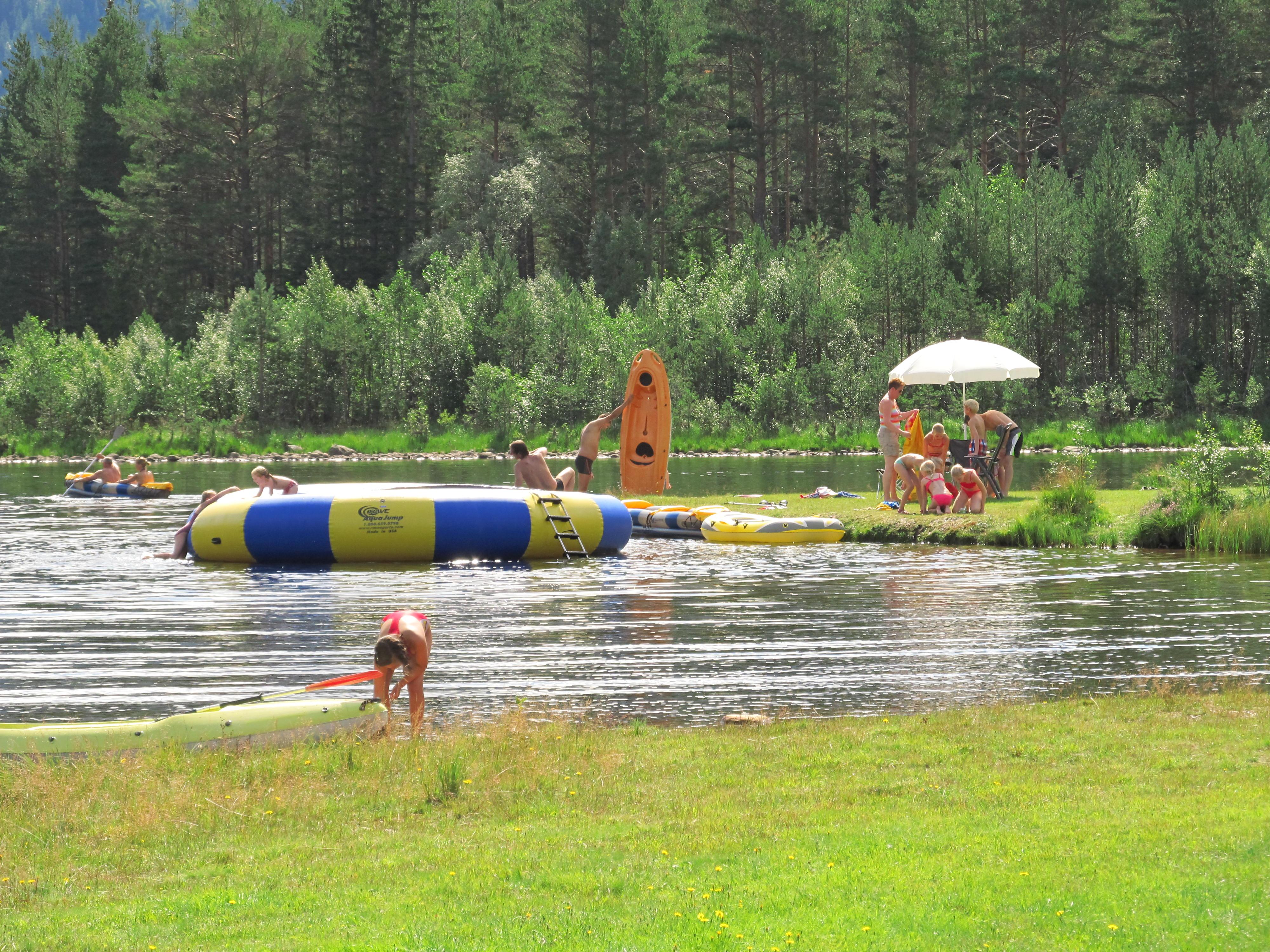 3 Water trampoline II
